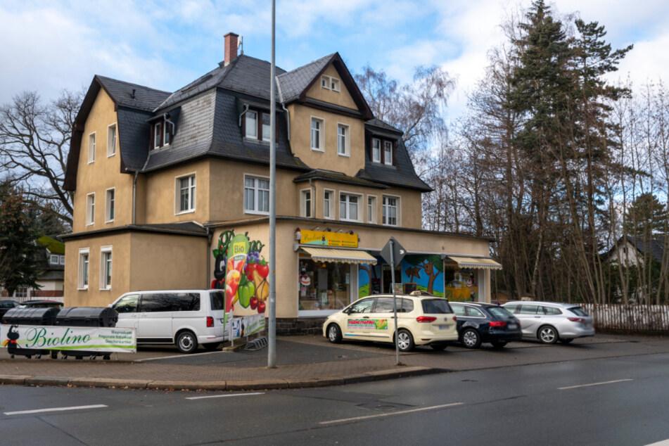 """Das """"Biolino"""" in der Oberfrohnaer Straße."""