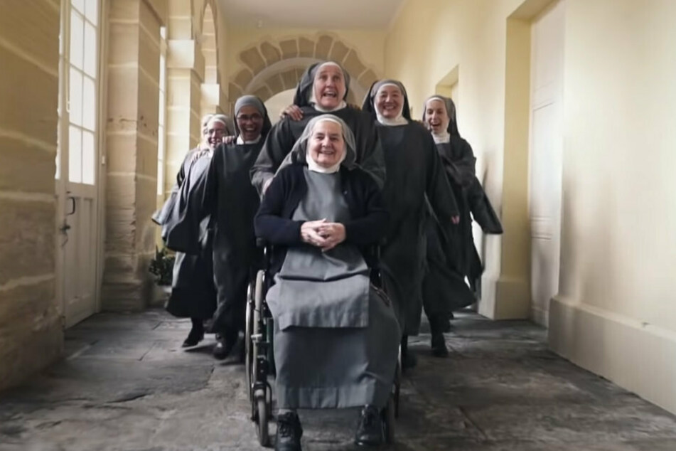 On YouTube, the dancing and singing nuns have become quite a sensation.