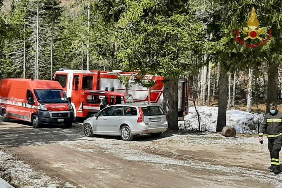 Die Rettungsdienste konnten einen weiteren Wintersportler in Sicherheit bringen.