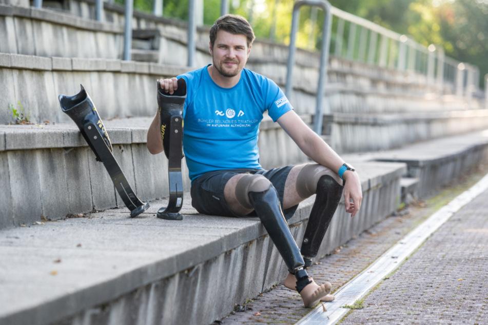 Maximilian Schwarzhuber will Hemmungen gegenüber Menschen mit Handicap abbauen.
