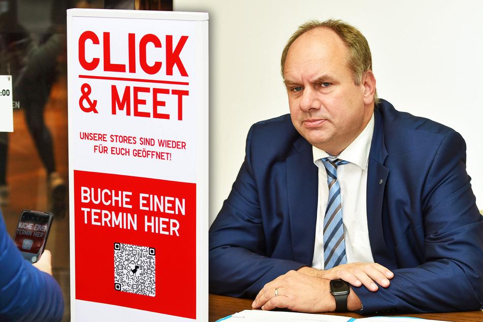 OB Dirk Hilbert (49, FDP) will das Termin-Shopping vorerst weiter erlauben.