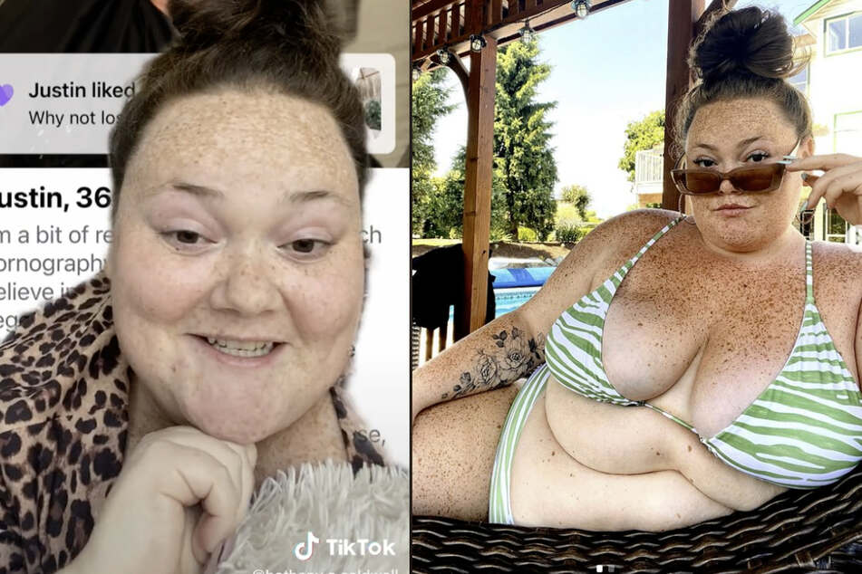"""""""You slay!"""": Influencer has the best response to being fat-shamed on Tinder"""