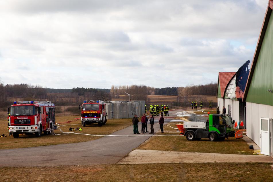 Zahlreiche Einsatzkräfte waren vor Ort.