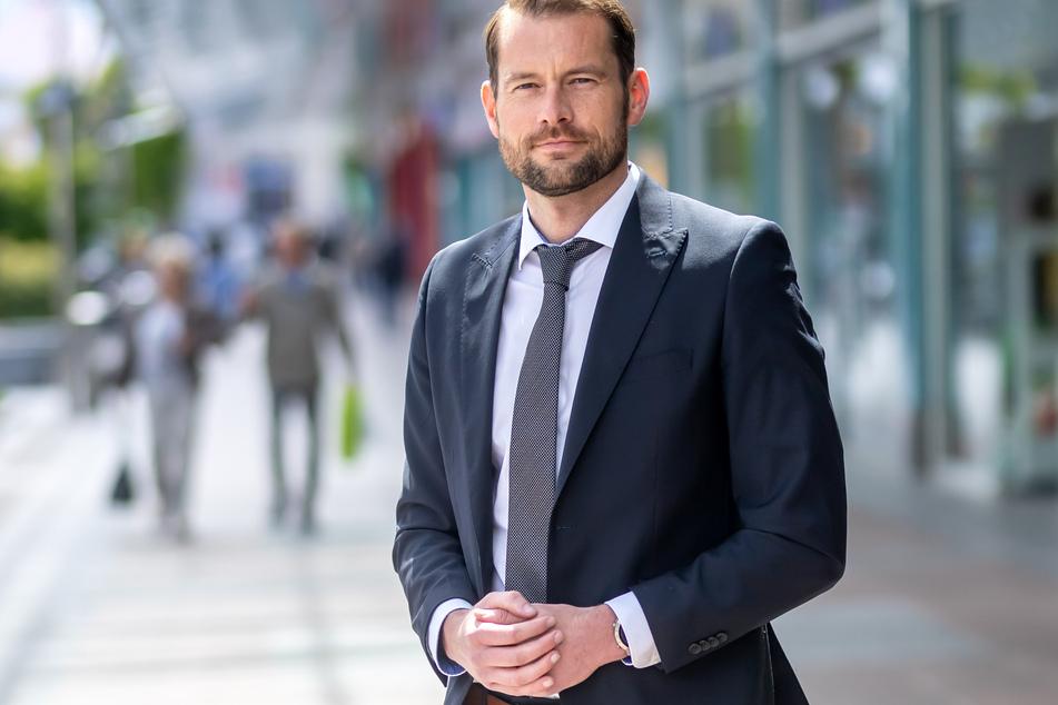 Chemnitz Center-Manager Thomas Stoyke (39) hat Verständnis für die Absage, doch sorgt sich wegen der Einbußen.