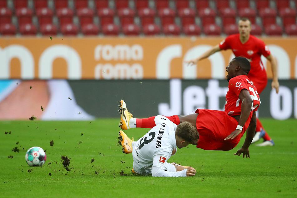 """Es sei """"zweitrangig"""", immer tollen Fußball zu spielen, sagte Nagelsmann nach dem Auswärtssieg beim FC Augsburg."""