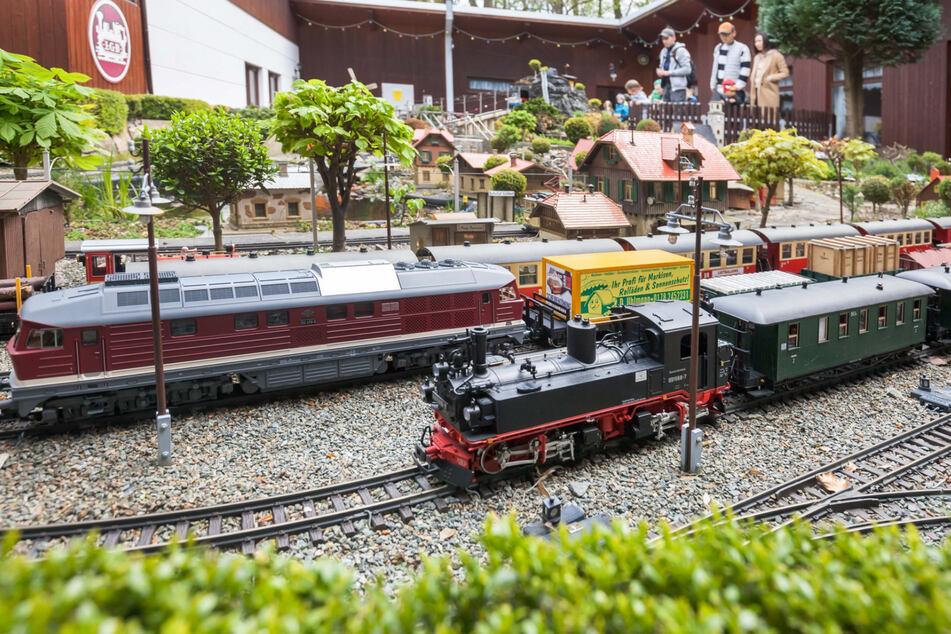 Faszinierend - die Miniatur-Eisenbahn hat eine lange Geschichte hinter sich und viel zu zeigen.