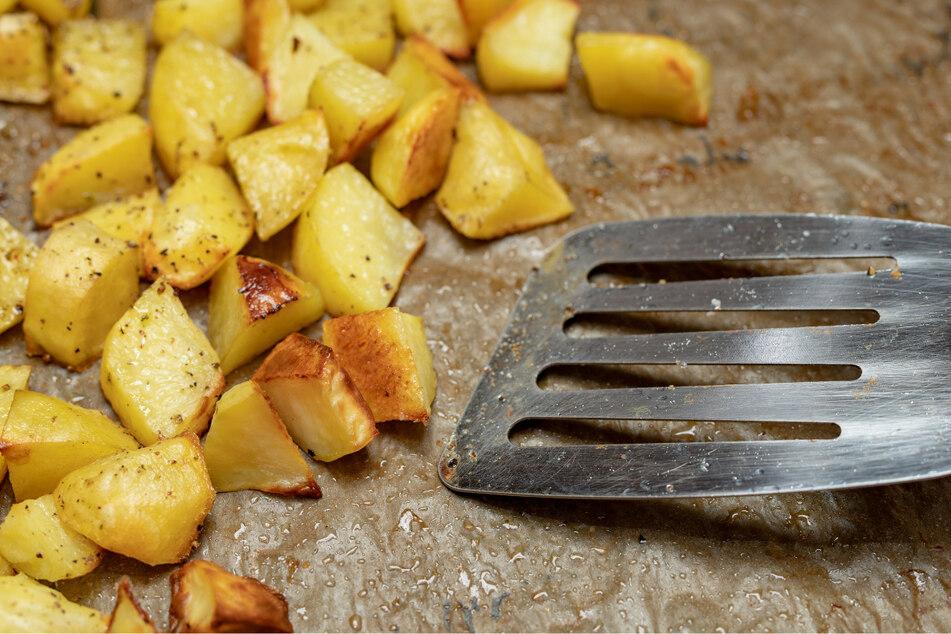 Selber ernten ist hip - heißt es bei der Kartoffelernte in Oberhäslich. (Symbolbild)