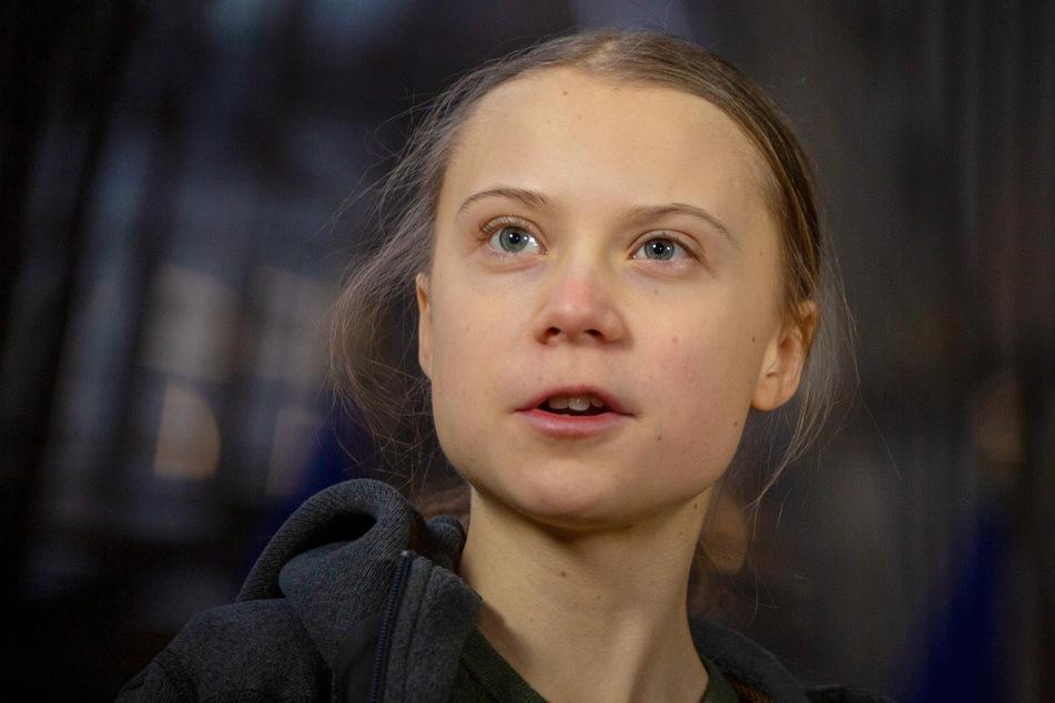 Die schwedische Klimaaktivistin Greta Thunberg (17).