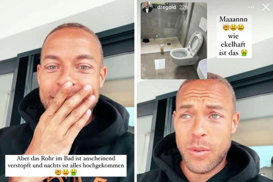 Derzeit richtet sich Andrej Mangold (34) in seinem neuen Haus auf Mallorca ein und teilte mit seinen Fans ein unschönes Erlebnis: Seine Toilette war verstopft.