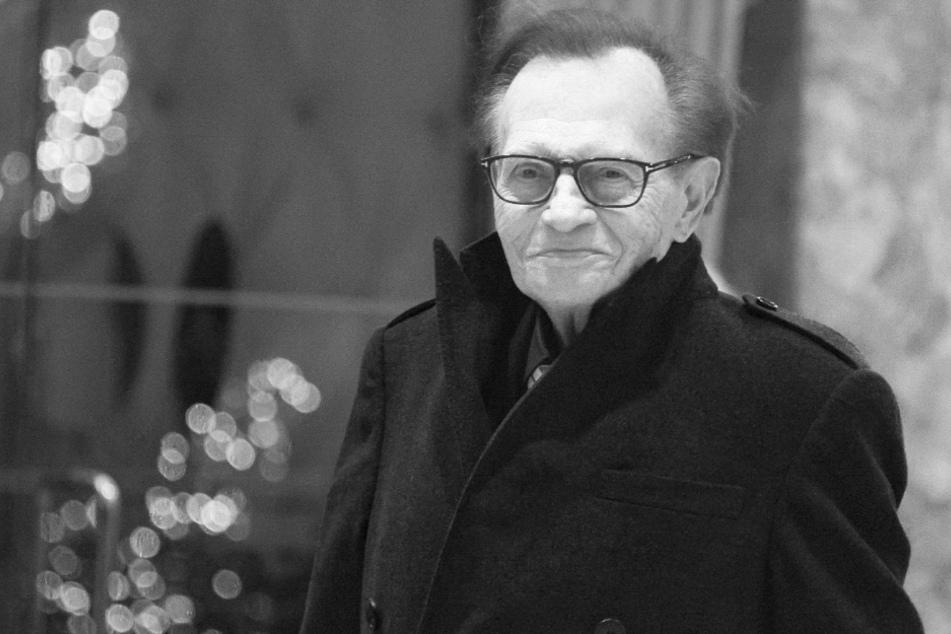 Kampf gegen Covid-19 verloren: Talk-Legende Larry King ist tot
