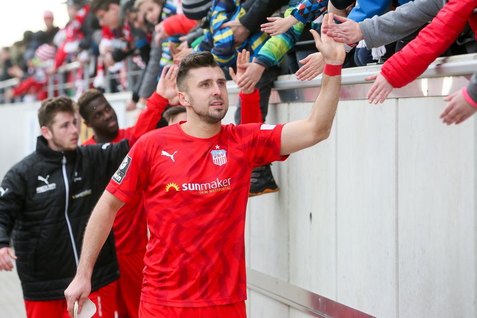 Davy Frick (31) will den Zwickauer Fans unbedingt zum ersten Mal den Sachsenpokal schenken.