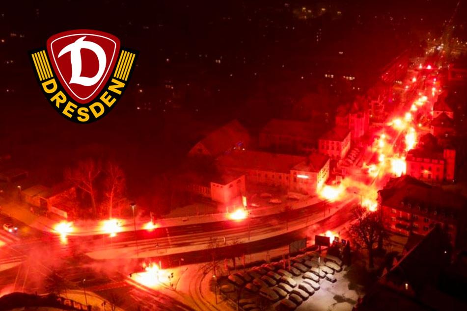 Kauczinski begeistert: Bengalos begrüßen Dynamos nach Elb-Clasico!
