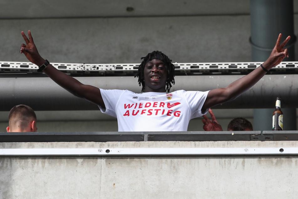 Freut sich auf die Bundesliga: Tanguy Coulibaly (19).