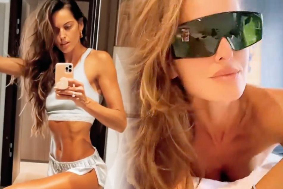 Das brasilianische Model Izabel Goulart (36) ist seit 2018 die Verlobte von Nationalkeeper Kevin Trapp (30).