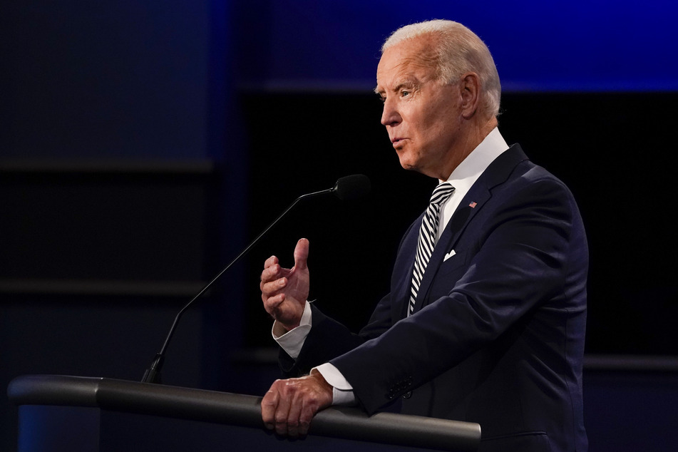 """You are the worst president America has ever had,"" Democratic candidate Biden told Trump."