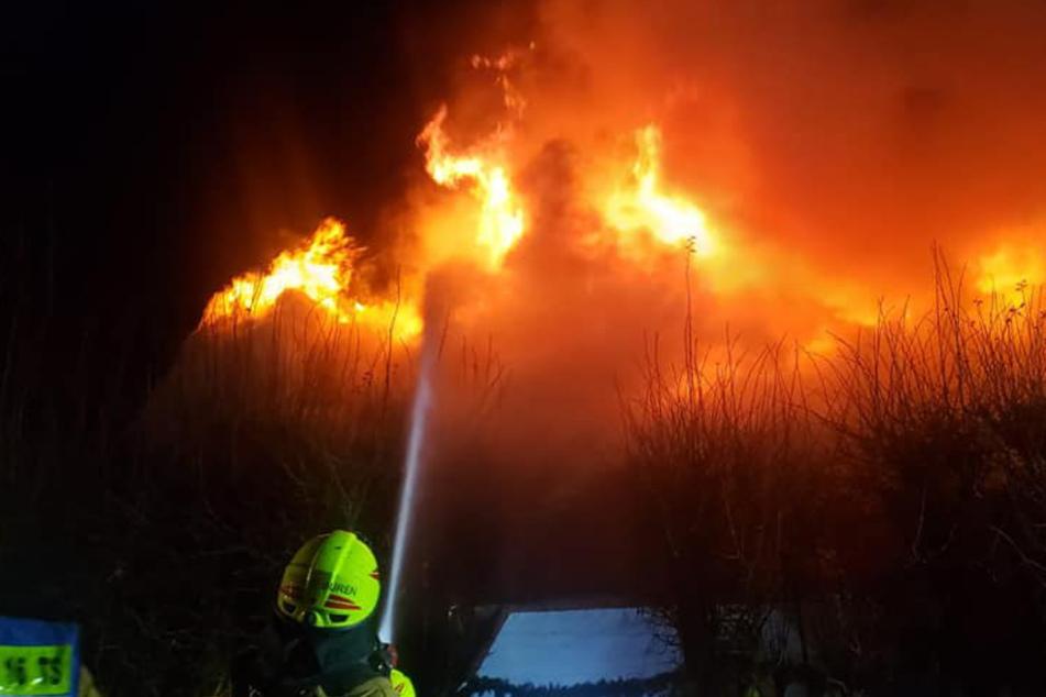 Schock für Oliver Geissen! Sein Ferienhaus steht in Flammen