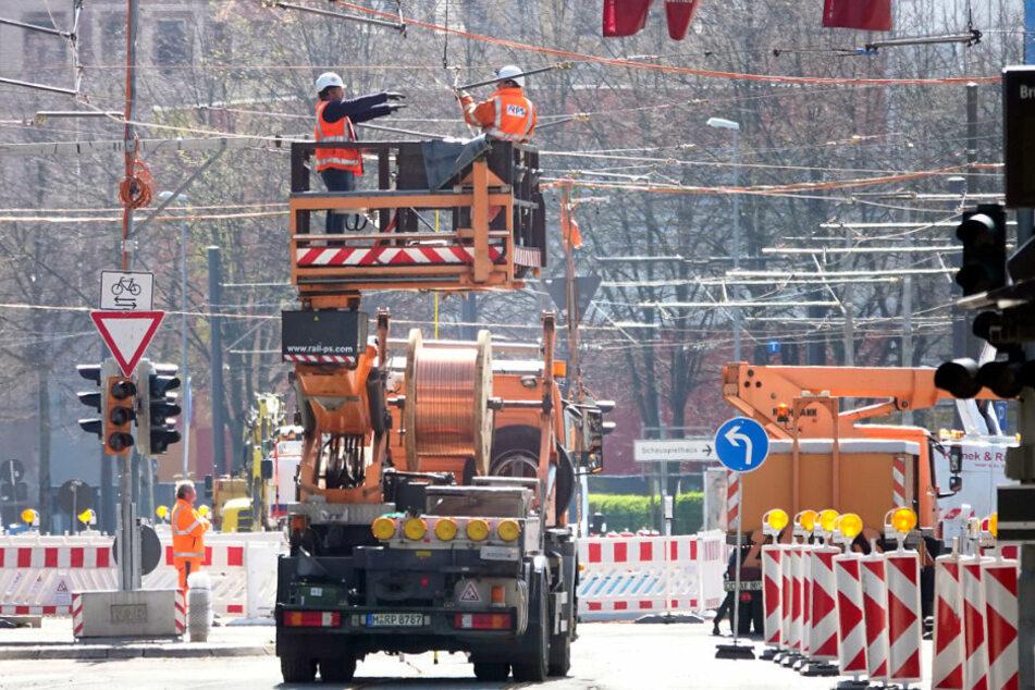 Chemnitz: Neue Baustellen in Chemnitz: Hier wird es ab Montag eng