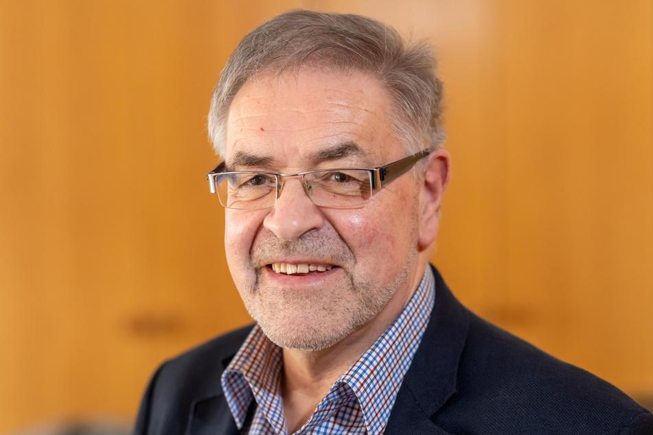 Linken-Stadtrat Klaus Bartl (70).