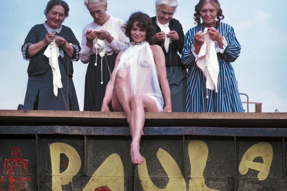 """Lieblingspaula der DDR: Nachdem Angelica Domröse gegen die Biermann-Ausbürgerung protestierte, erhielt die """"Brigitte Bardot des Ostens"""" keine DEFA-Rolle mehr. Sie suchte ihr Glück im Westen."""