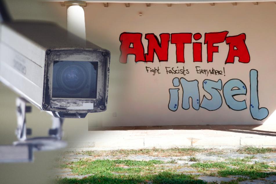Graffiti-Serie am Schlossteich-Pavillon: Muss eine Videoüberwachung her?