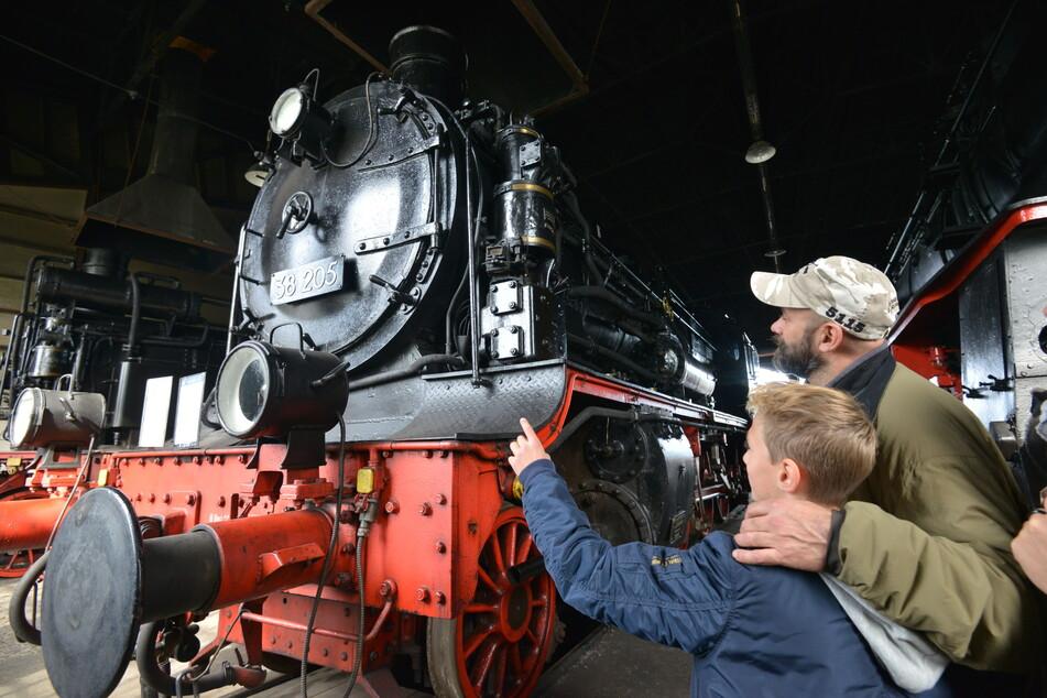 Der Schauplatz Eisenbahn in Hilbersdorf will ab Donnerstag wieder Gäste begrüßen.