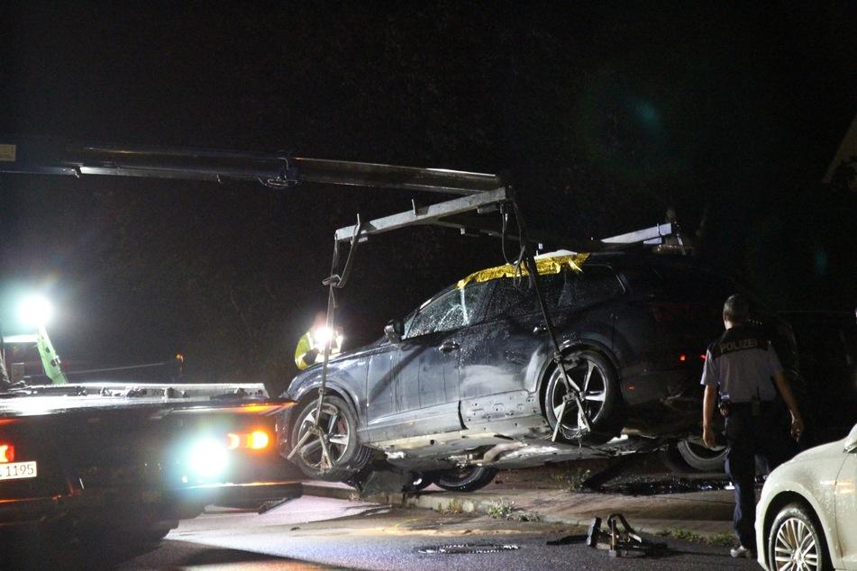 Durch den Unfall entstand ein Schaden in Höhe von 56.000 Euro.