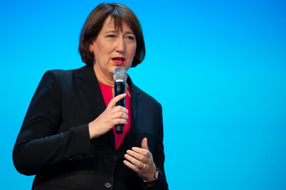 Hildegard Müller, Präsidentin des Verbandes der Automobilindustrie.