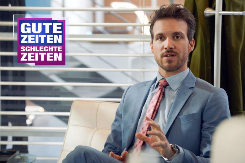 Schon wieder auf der Mauerwerks-Toilette: GZSZ-Felix erfährt wichtiges Geheimnis