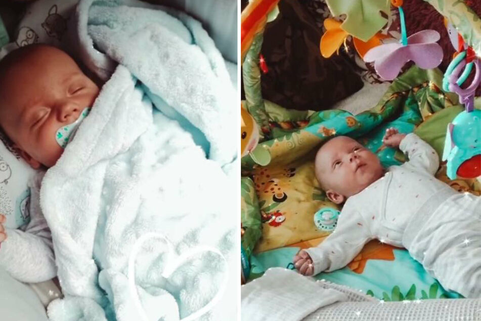 In Sarafinas Instagram-Story wurden die beiden Söhne Casey und Emory gezeigt.