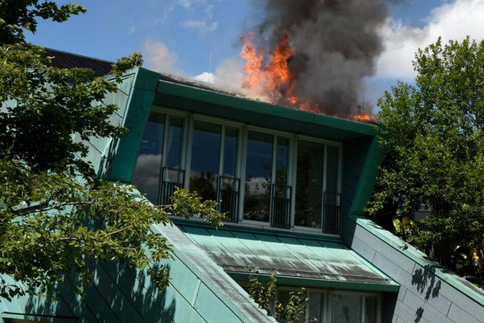 Kita-Brand in München: Drohne gefährdet Feuerwehr!