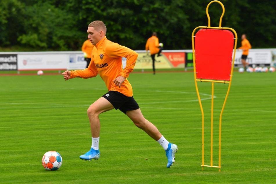 Auf geht's! Luca Herrmann machte bereits vor dem ersten Trainingslager mit zwei Vorlagen auf sich aufmerksam.