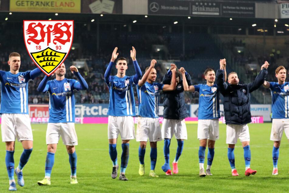 DFB-Pokalspiel des VfB in Rostock womöglich vor 8000 Zuschauern