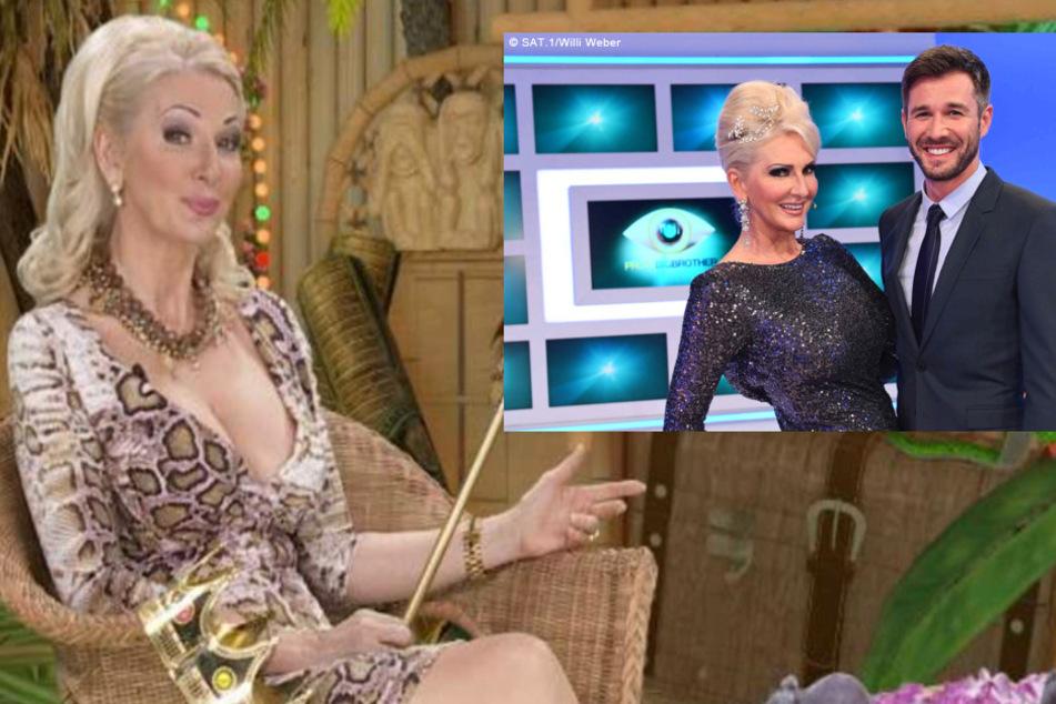 """Die Königin der Trash-Unterhaltung hier als """"Dschungelcamp""""-Siegerin und mit Jochen Schropp (41) beim """"Big Brother""""..."""