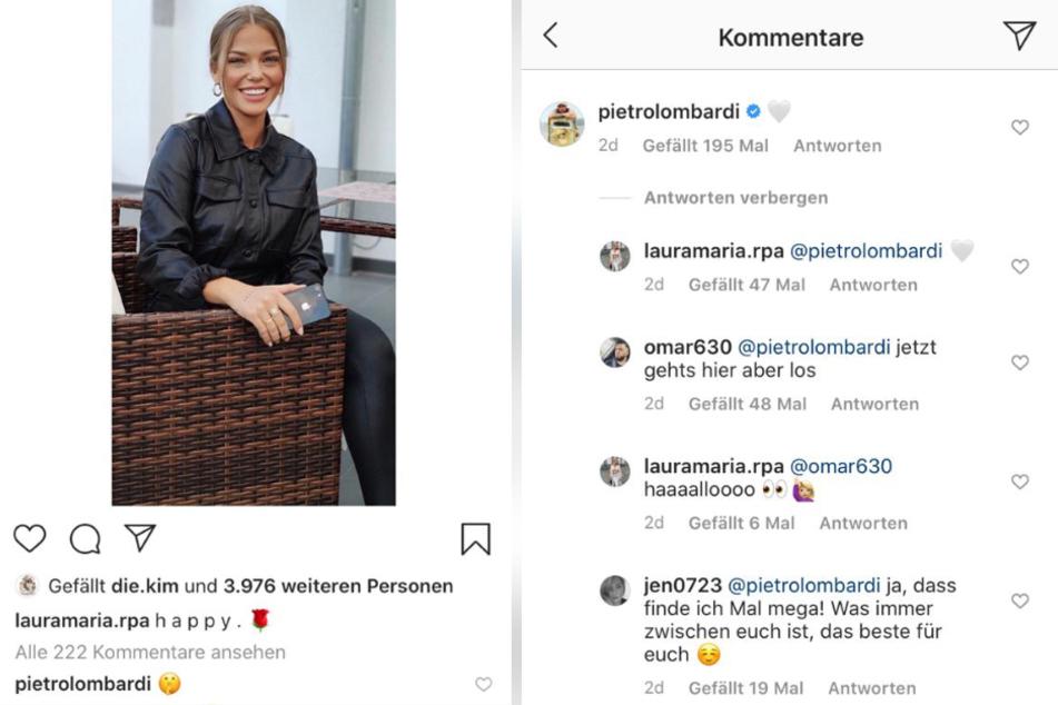 Ist Influencerin Laura Maria die neue Freundin von Sänger Pietro Lombardi? (Bildmontage)