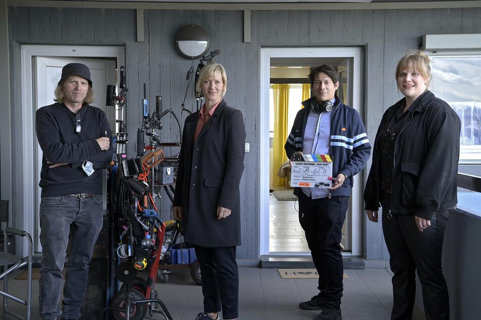 Neu im Team ist Stefanie Reinsperger (re.) an der Seite von Peter Faber (Jörg Hartmann), Martina Bönisch (Anna Schudt) und Jan Pawlak (Rick Okon).