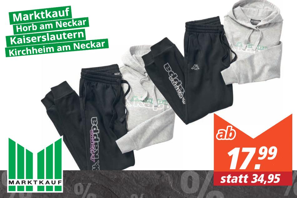 Kappa Damen/Herren Sweatpants ab 17,99 Euro