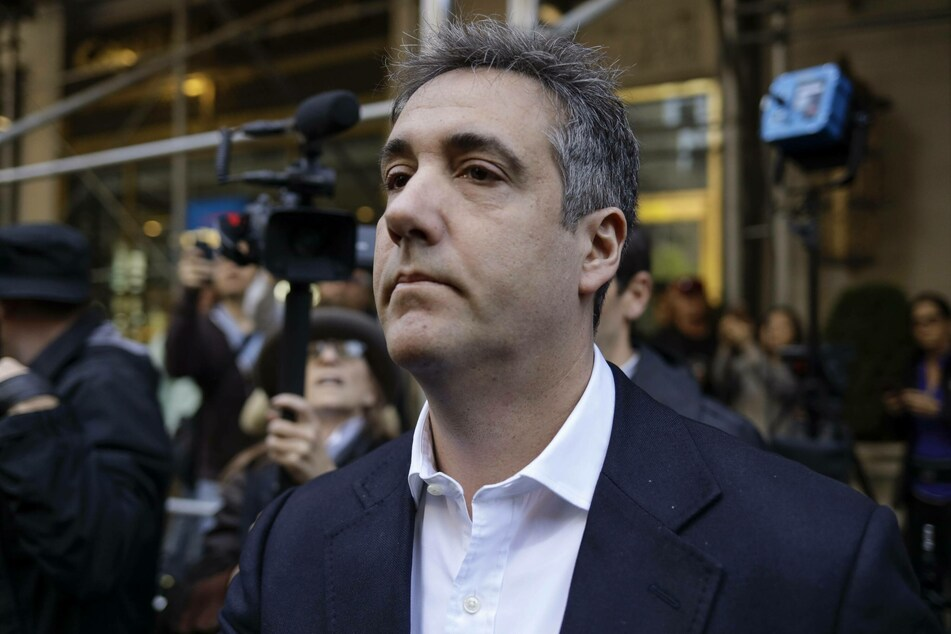 Trump's former lawyer Michael Cohen is currently serving his prison sentence at home due to the risk of catching coronavirus.