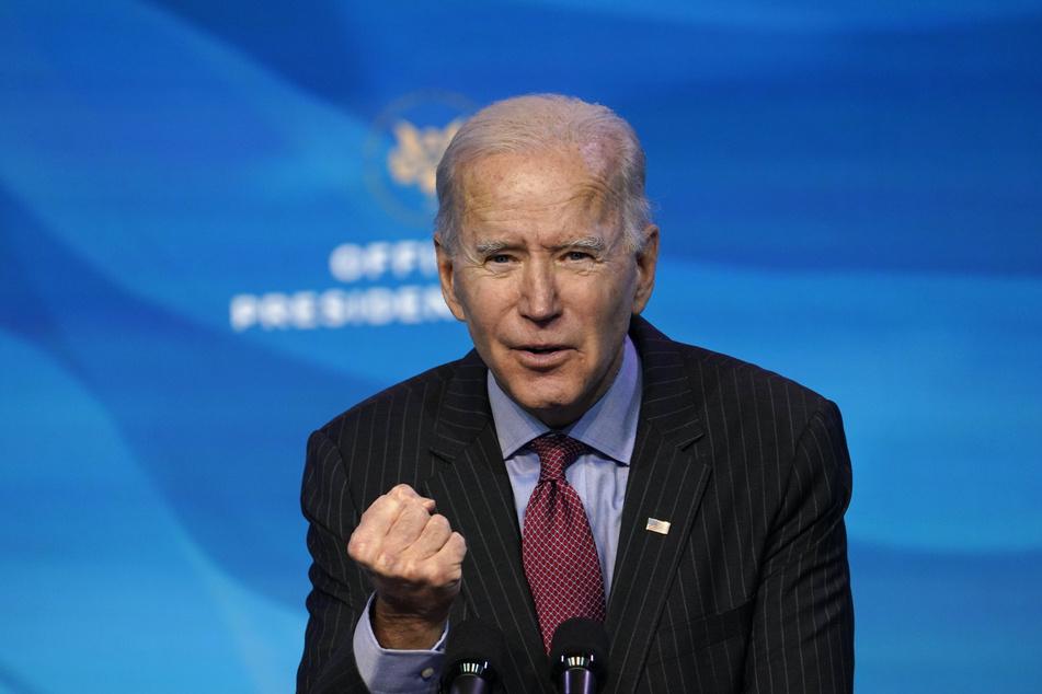 Joe Bidens (78) Vereidigung findet am 20. Januar statt. Er wird der 46. Präsident der USA sein.