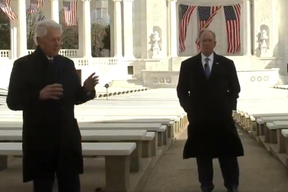 """""""Menschliches Miteinander"""": Drei Ex-Präsidenten mit rührender Video-Botschaft"""