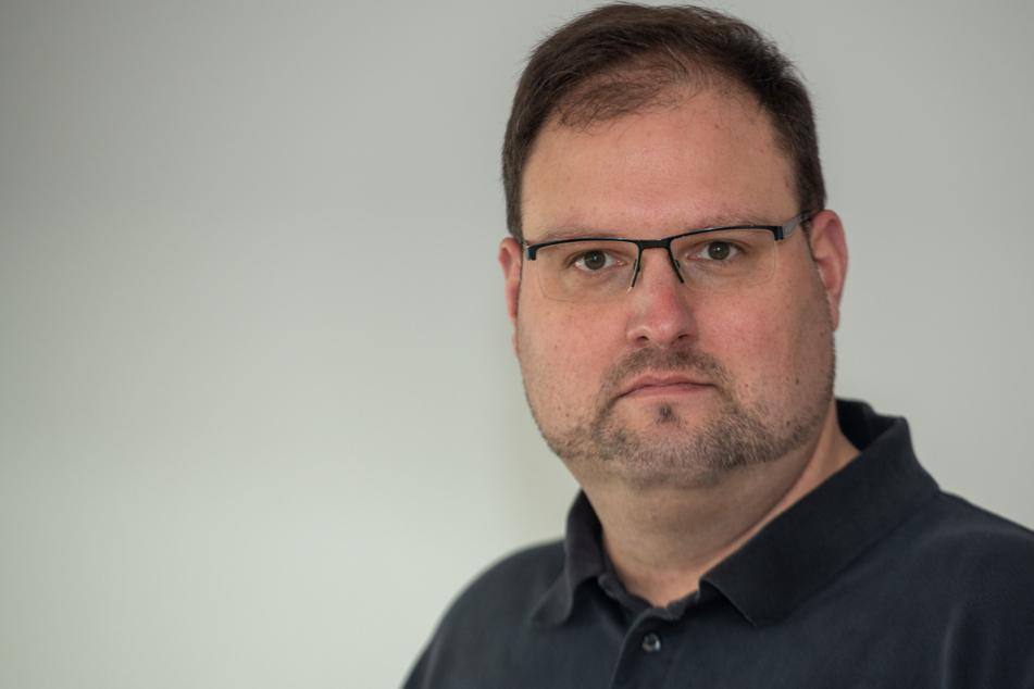 Allgemeinarzt Christian Kröner setzte sich medienwirksam für die Corona-Impfkampagne ein.