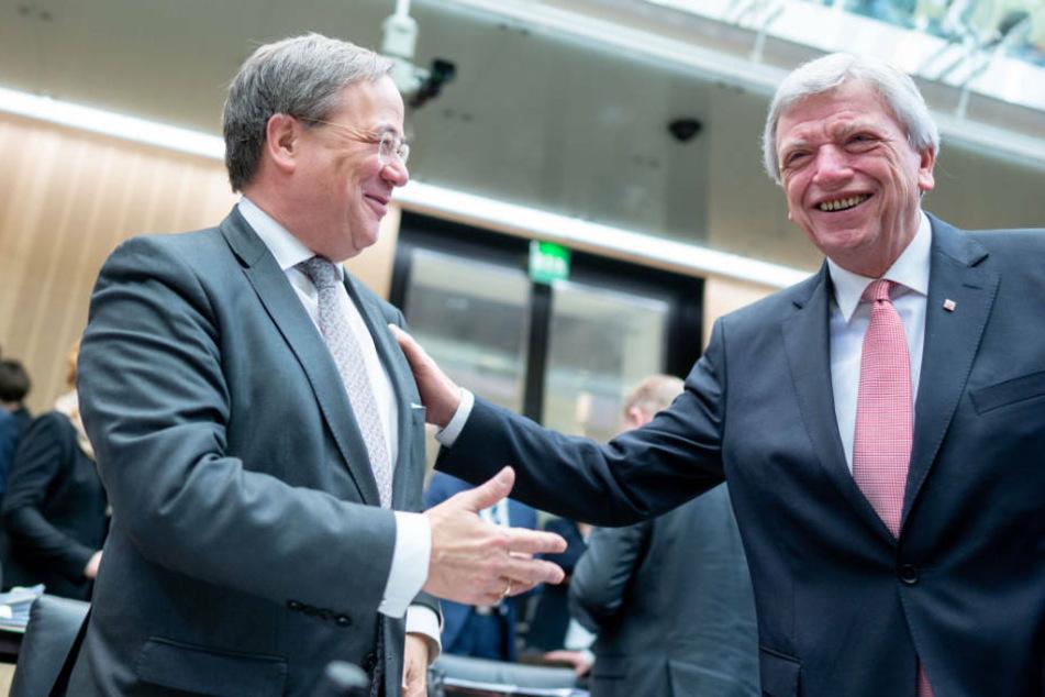 Ministerpräsident Bouffier fordert Solidarität mit neuem CDU-Chef Laschet