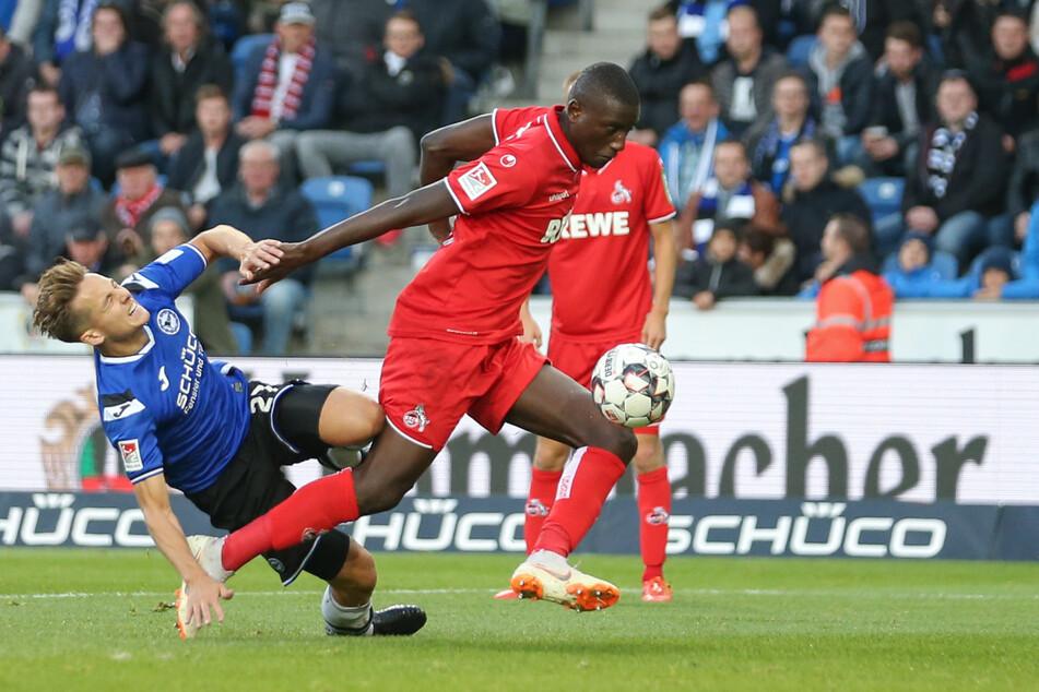 Serhou Guirassy spielte von 2016 bis Ende 2018 beim 1. FC Köln (Archivbild).