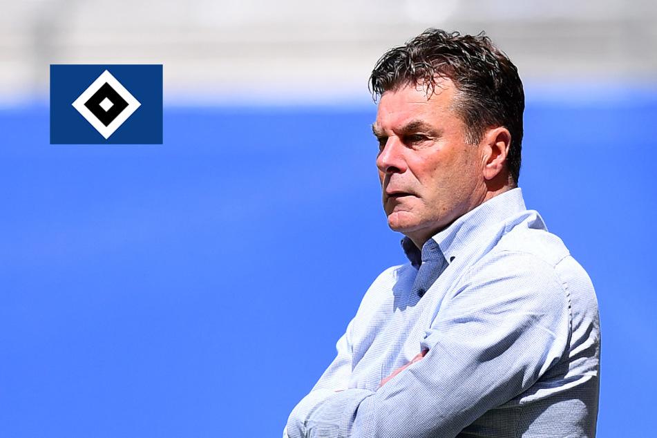 Bundesliga-Aufstieg in Gefahr: Das sagt HSV-Trainer Hecking dazu