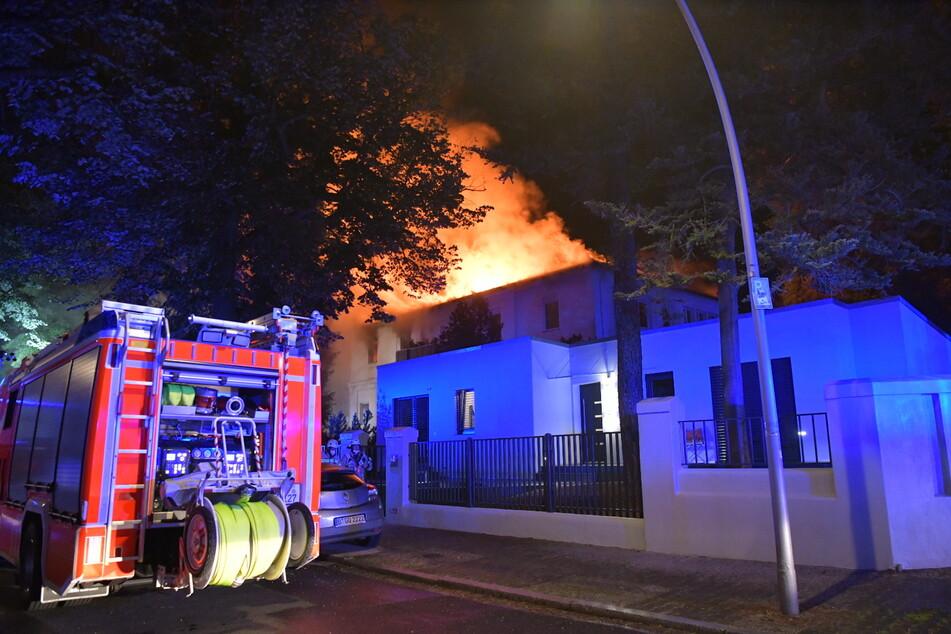 Die Feuerwehr war mit 110 Kräften im Einsatz.