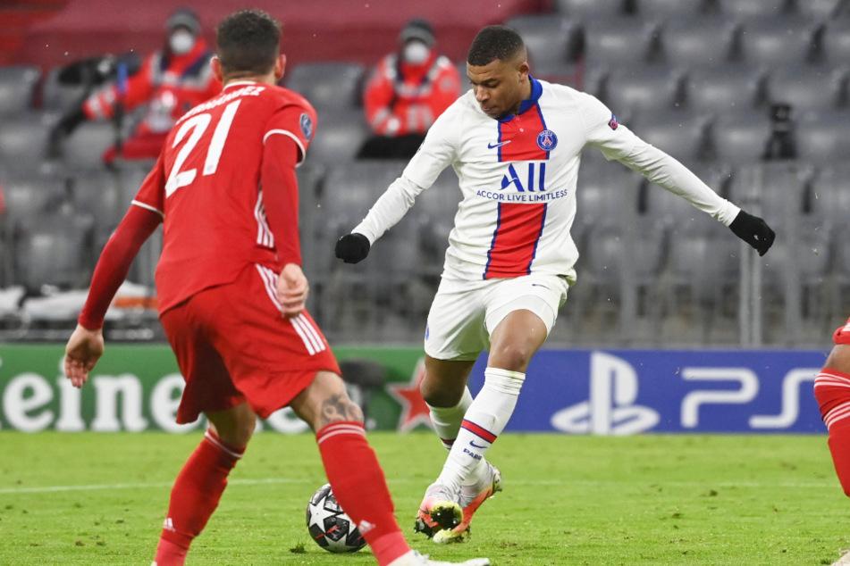 Der FC Bayern München hatte das Spiel gegen Paris Saint-Germain zwar über weite Strecken im Griff, aber PSG-Star Kylian Mbappé blieb zweimal eiskalt.