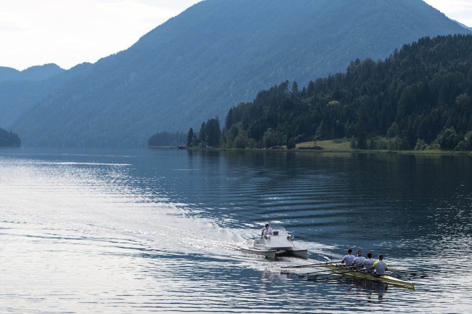 Auf dem Weißensee arbeiteten Karl Schulze & Co. 2016 am Feinschliff für Olympia. Dieses Jahr waren sie wieder in Kärnten, bringt es wieder Erfolg?