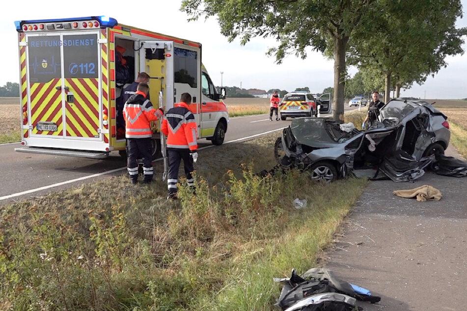 Bei diesem Unfall nahe Klein Twülpstedt wurde ein Mann so schwer verletzt, dass er noch vor Ort verstarb.