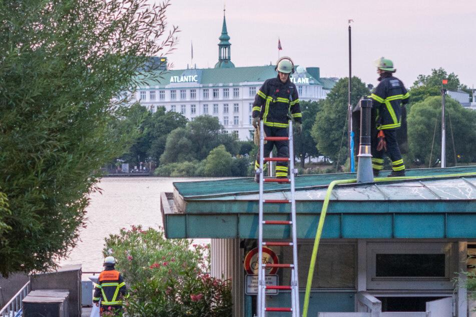 Brand in Promi-Restaurant am Alsterufer ausgebrochen