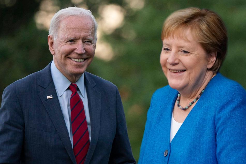 Biden meets with German Chancellor Angela Merkel to help rebuild frayed trans-Atlantic ties