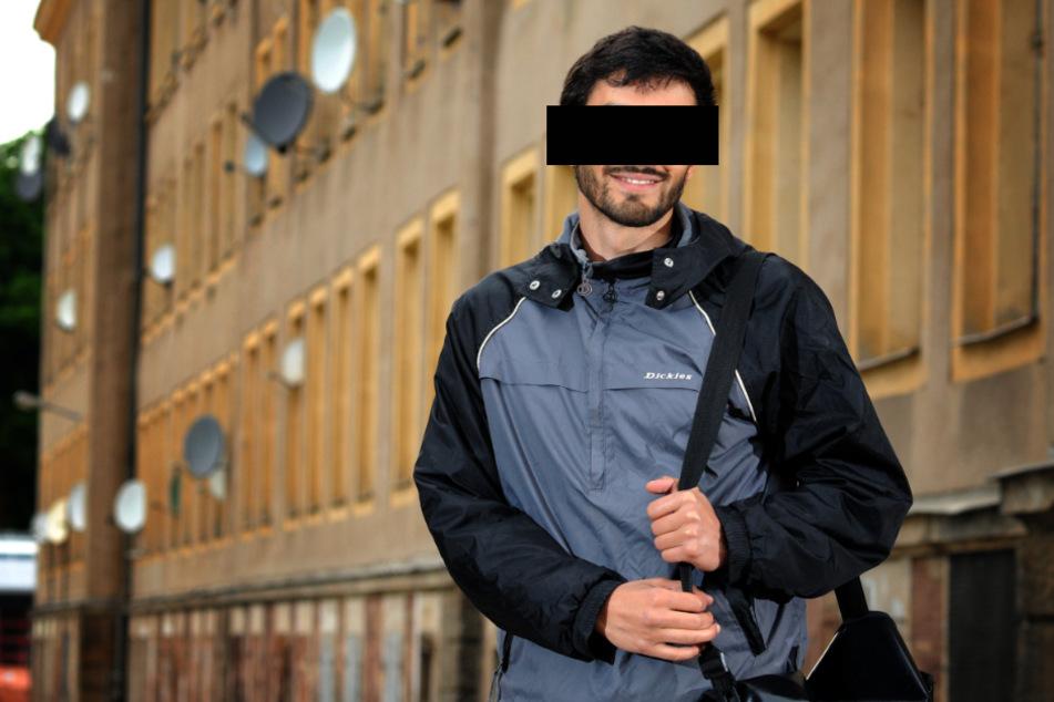 Unter Mordverdacht: Sozialarbeiter Edris Z. (30) engagierte sich gegen Rassismus und nahm auch an Demos teil.